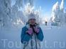 Замерзший зайчик)))