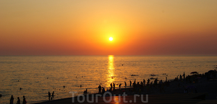 21.07.12 Вечер на море в Лоо