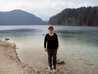озеро,где по приданию утонул Людвиг