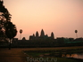 Восход солнца над храмом Ангкор