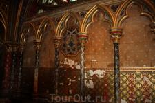Великолепная Сент-Шапель(Святая Капелла)