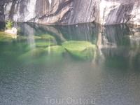 Горный парк Рускеала мраморный каньон.