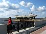 набережная Северной Двины, у Морского музея, который тоже был закрыт на ремонт