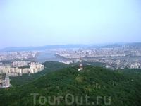 Вид Сеула с башни N