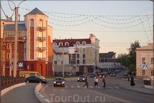 угол ул.Ярославской и Красной площади