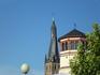 Церковь с кривой крышей