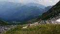 Вид на приют Фишт с перевала