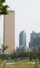Юксам-билдинг (самое высокое здание Сеула)