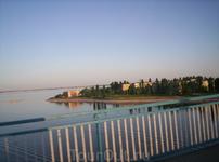 Мост через реку камышинку