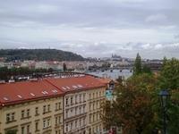 Вид на Пражский Град с Вышеграда