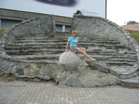 на обзорной площадке Владивосток