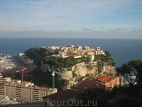 в этом снимке умесчтилось практически все государство Монако