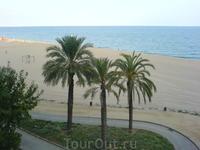 Пляж. Велодорожка по побережью. Можно кататься на велосипеде или просто гулять.