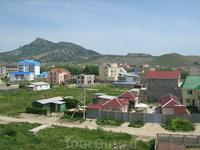 Частные жилые дома и частные гостиницы на улице Гагарина 2.