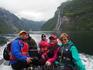 Прогулка на катере к водопадам Гейрангера