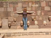 Древний город Тиауанако.