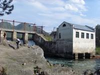 Чемальская ГЭС, не работает с 2011г.