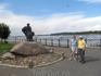 Памятник Бурлаку был установлен на Волжской набережной в 1977 году