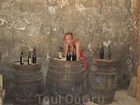 на винной фабрике