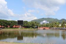 Столица о.Лонгкави- город Куах