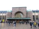 Поезда Allegro из Петербурга прибывают на центральный вокзал в Хельсинки. Вот так он выглядит.