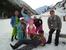 А эту снежную красавицу слепили наши дети возле гостиницы!