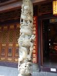 Храм Хуалинь Надо отметить большую терпимость китайцев.Не возражают при фотографировании,да и  насчет одежды не замарачиваются.Я нечаянно в мечеть завалилась ...