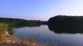 устье реки у Черного моря