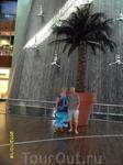 Райский уголок Дубай молла.