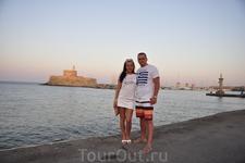 Форт Святого Николая на закате солнца