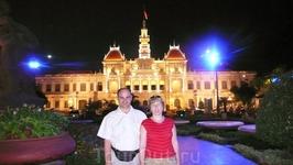 Президентский  дворец  в  Сайгоне