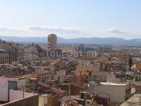 город с крыши крепости