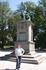 С каким-то памятником на набережной Осло