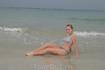 Пляж песчаный, вода чистая