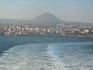 Вид на город с моря - 1 .