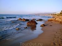 пляж в Сталиде