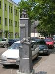 Памятник кошкам в г.Бресте