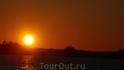 Закат на Гимольском озере.