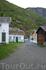 Некоторые из домов городка Лэрдал сохранились с середины 18 века!