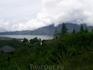 Вид на вулкан Батур.