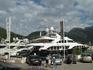 Яхты в порту Будвы.