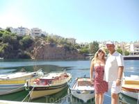 Днем у озера г.Агиос-Николаос
