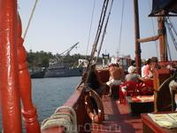 Прогулка по Севастопольской бухте