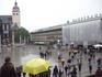 Привокзальная площадь в Кельне,выходишь на нее и тут же видишь величественный Кельнский  Кафедральный Собор.