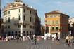 Верона. Площадь Бра.