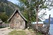 """озеро Walchensee, """"Деревня Викингов"""" - остатки декораций к фильму"""