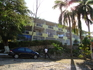 Студии Montego Gardens сдаются посуточно и помесячно - самое бюджетное размещение, которое я нашла в городе.