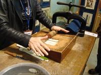 Изготовление папируса.