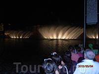 поющие фонтаны Дубая 1