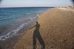 Здравствуйте, два моря!  Мыс слияния Эгейского и Средиземного моря на севере Родоса